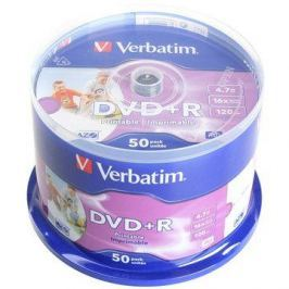 VERBATIM DVD+R AZO 4.7GB, 16x, printable, spindle 50 ks