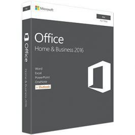 Microsoft Office Home and Business 2016 ENG pro MAC - 1 uživatel/ 1 MAC