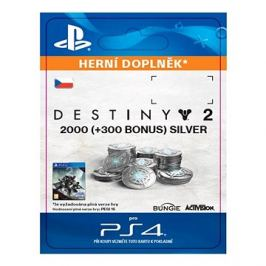 2000 (+300 Bonus) Destiny 2 Silver - PS4 CZ Digital