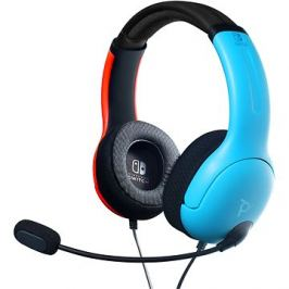 PDP LVL40 Wired Headset - Color Block - Nintendo Switch