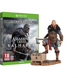Assassins Creed Valhalla - Ultimate Edition - Xbox One + Eivor figurka