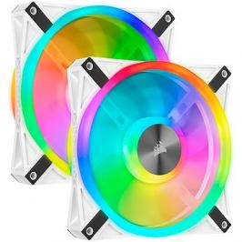 Corsair iCUE QL140 RGB 140mm White Dual Fan Kit
