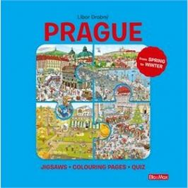 Prague: Puzzles - Colouring - Quizzes