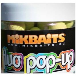 Mikbaits Plovoucí fluo boilie Ananas N-BA 14mm 250ml
