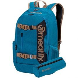 Meatfly Basejumper 6 Backpack, Heather Petrol