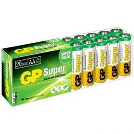 GP Super Alkaline LR6 (AA) 20ks v blistru