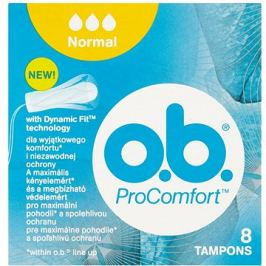 O.B. ProComfort Normal Tampons  8 ks