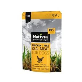 Nativia Real Meat - Chicken & Rice 1 kg