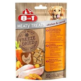 8in1 Dog Freeze Dried Chicken/Carrots 50g 32 XG